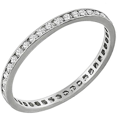 Antique Diamond Eternity Wedding Band