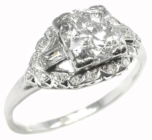 Antigue Engagement Ring