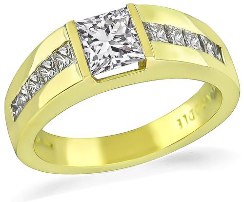 Bailey Banks And Biddle Princess Cut Engagement Ring For Women