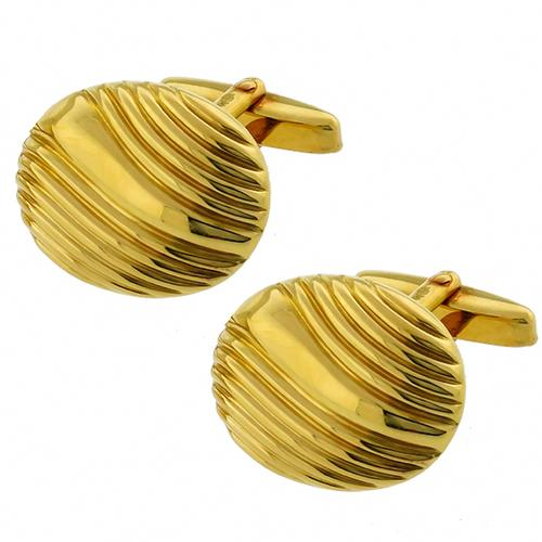 18k Yellow Gold   Earrings By  Black Starr & Frost