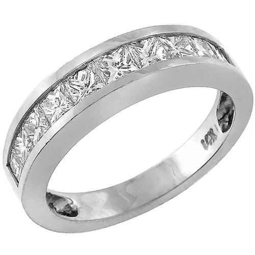 0.75ct Diamond Gold Wedding Band