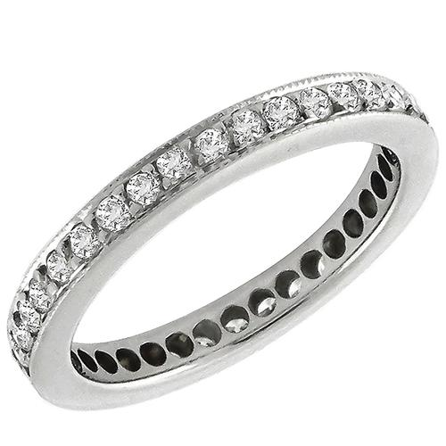 0.90ct Diamond Eternity Wedding Band
