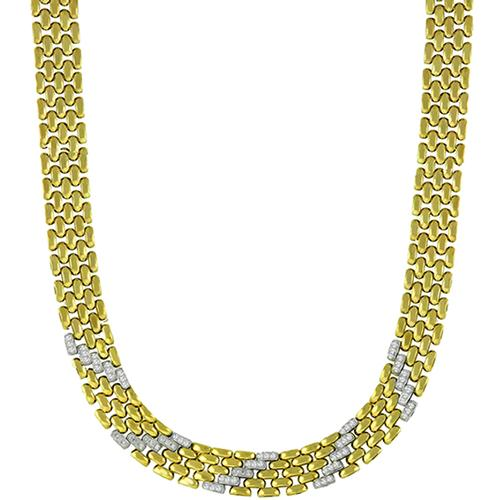 Diamond Gold Chain   Necklace