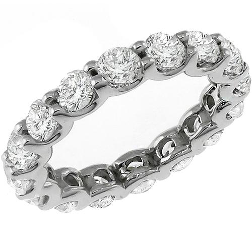 3.60ct Diamond  Eternity Wedding Band