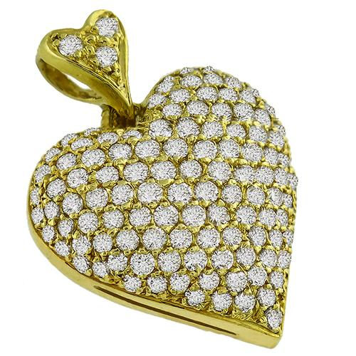 Mayor's Diamond Heart Pendant