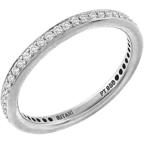 0.80ct Diamond Eternity Wedding Band By Ritani