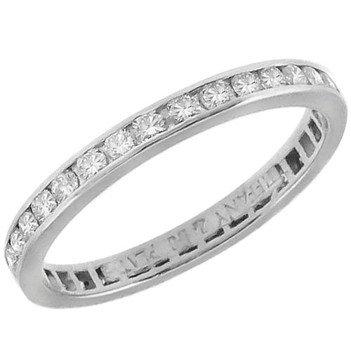 Tiffany 0.50ct Diamond Eternity Wedding Band