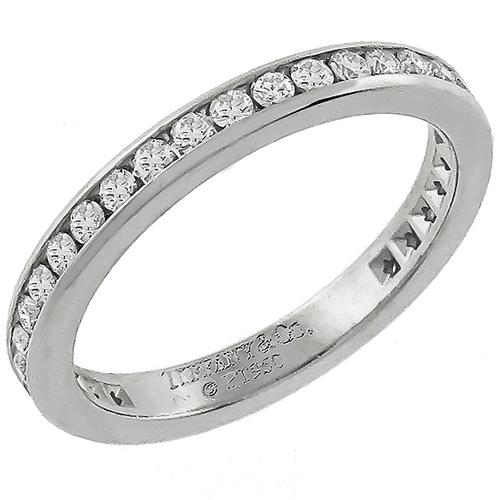 Tiffany & Co 0.85ct Diamond Eternity Wedding Band