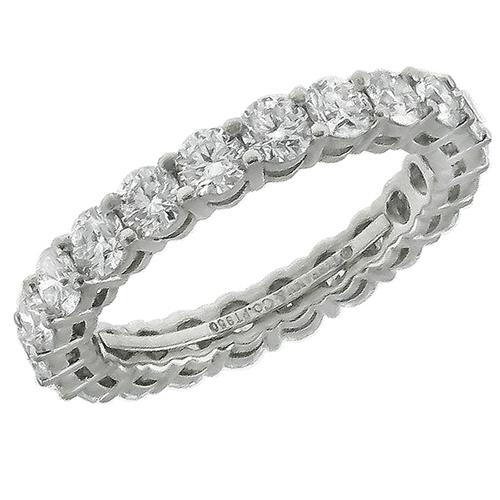 Tiffany 2.20ct Diamond Eternity Wedding Band