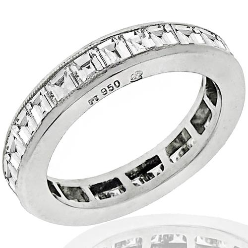 1.45ct Diamond Eternity Wedding Band