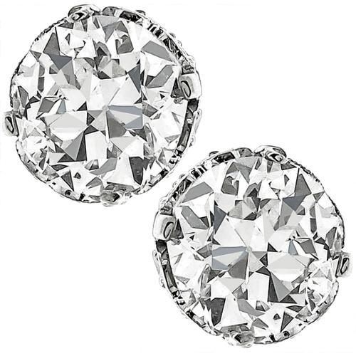 2.29ct Diamond Gold Stud Earrings