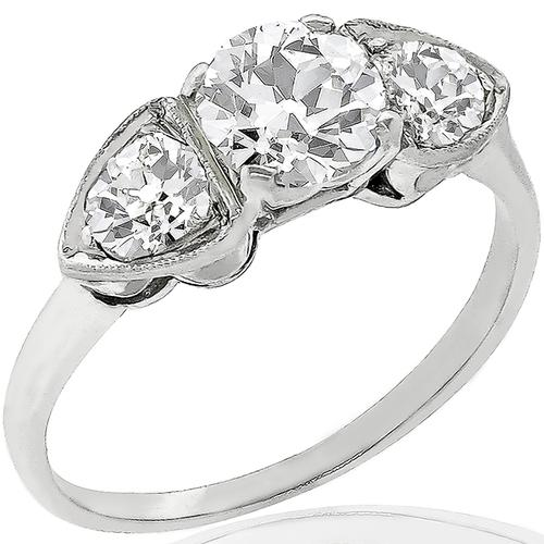 0.87ct Diamond Gold Anniversary Ring