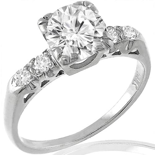 0.85ct Diamond Gold Engagement Ring