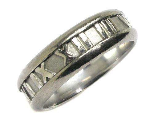 150073a5b Tiffany & Co. 18k White Gold Atlas Ring