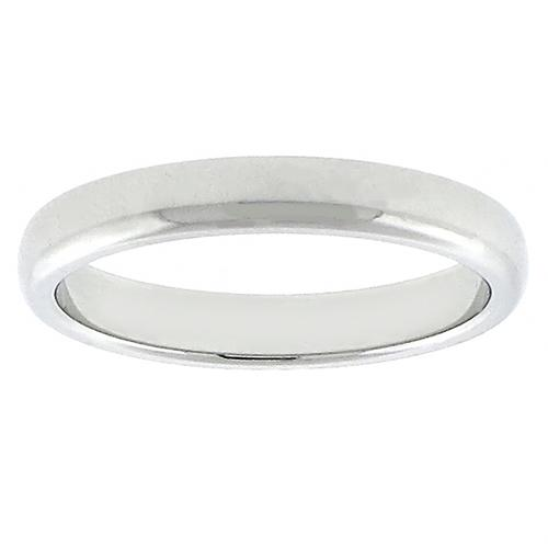 3mm Tiffany & Co. Platinum Wedding Band