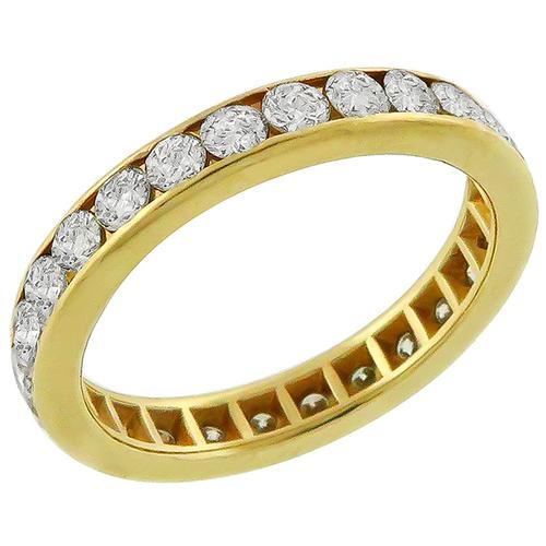 1.00ct Diamond Eternity Wedding Band