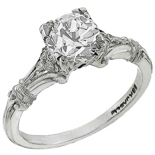 Jabel 0.50ct Diamond Gold Engagement Ring