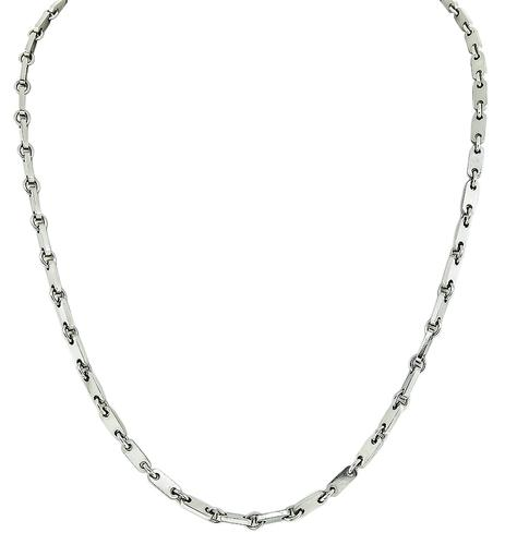 18k White Gold Necklace by Cartier