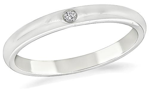 Elsa Peretti Diamond Platinum Wedding Band