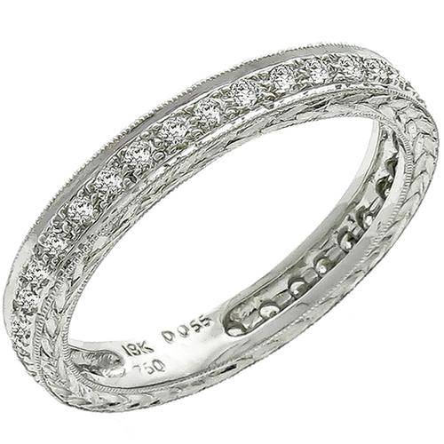 Diamond Eternity Gold Wedding Band