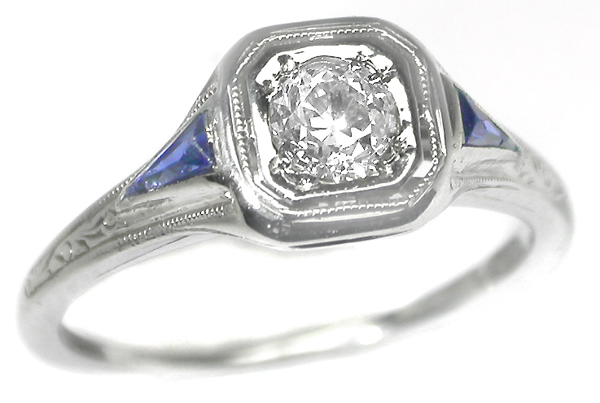 New York Wedding Rings 25 Awesome Art deco engagement rings