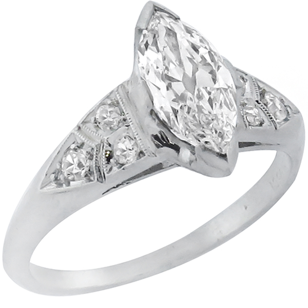 platinum engagement ring 1