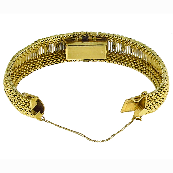 Belfont Incabloc Diamond Gold Cover Watch Bracelet