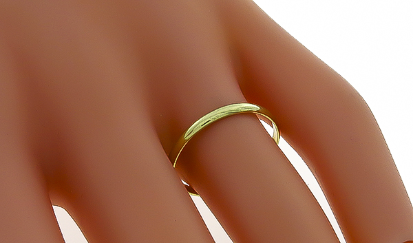 Tiffany & Co Gold Wedding Band Photo 1