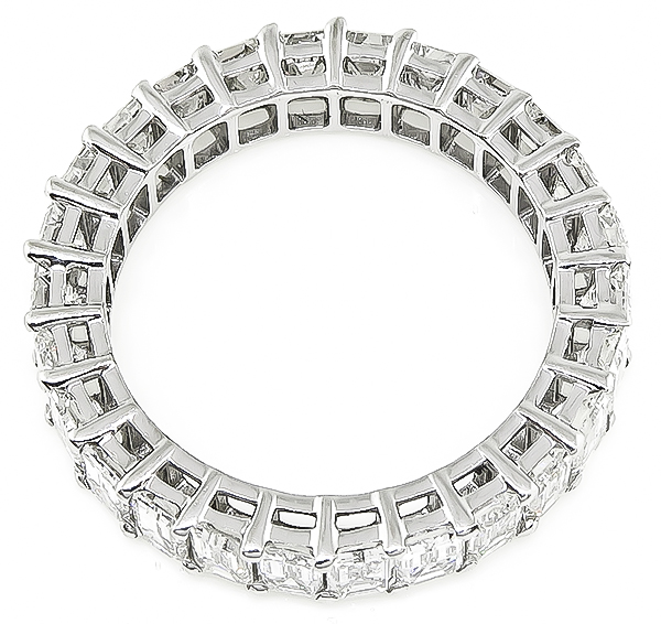 Estate 4.00ct Diamond Eternity Wedding Band