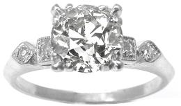 Vintage Amp Antique Engagement Rings For Sale New York