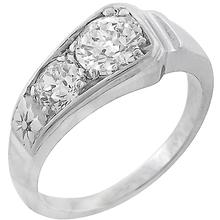 diamond 14k white gold ring 1