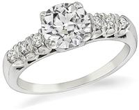 1920s 1.16ct Diamond Engagement Ring