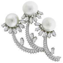 Diamond Pearl Platinum Pin