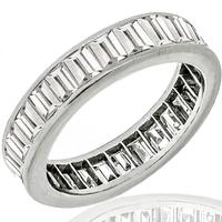 4.00ct Diamond Eternity Wedding Band