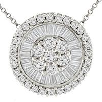 2.01ct Diamond Gold Necklace
