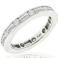1.10ct Diamond Eternity Wedding Band