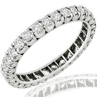 1.16ct Diamond Eternity Wedding Band