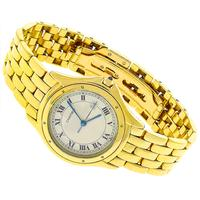 Cartier Cougar Gold Watch