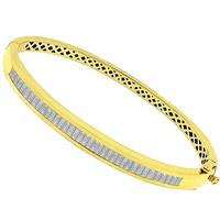 1.60ct Diamond Gold Bangle