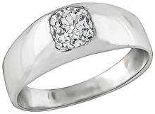Estate 0.65ct Diamond Men's Ring