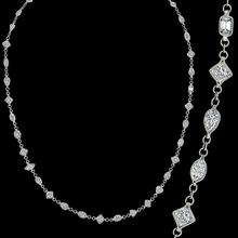 Diamond By The Yard Necklace
