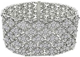 Estate 24.09ct Diamond Bracelet - price $29,500