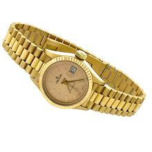 Estate Croton 18k Pink Gold Ladies Watch