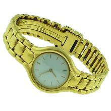 Estate Ebel Beluga 18k Yellow Gold Women's Swiss Watch