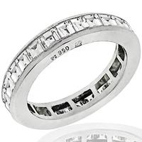 1.45ct Diamond Eternity Wedding Band | Israel Rose