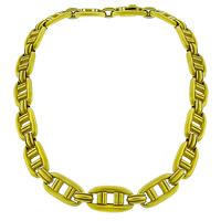 1976 Kieselstein-Cord Gold Link Necklace| Israel Rose