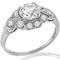 GIA 1.02ct Diamond Engagement Ring