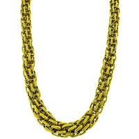 Bulgari Gold Chain Necklace