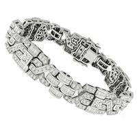 7.00ct Diamond Gold Bracelet