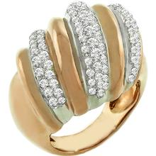 Diamond Gold Cocktail Ring